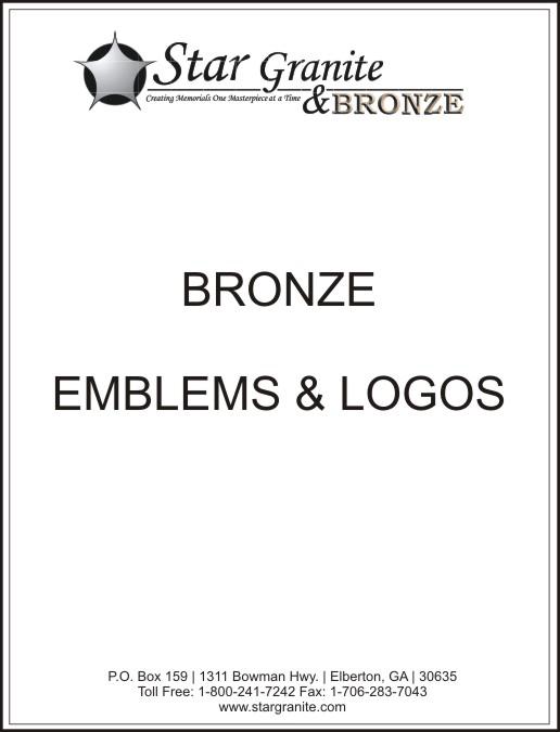 Bronze Emblems Logos