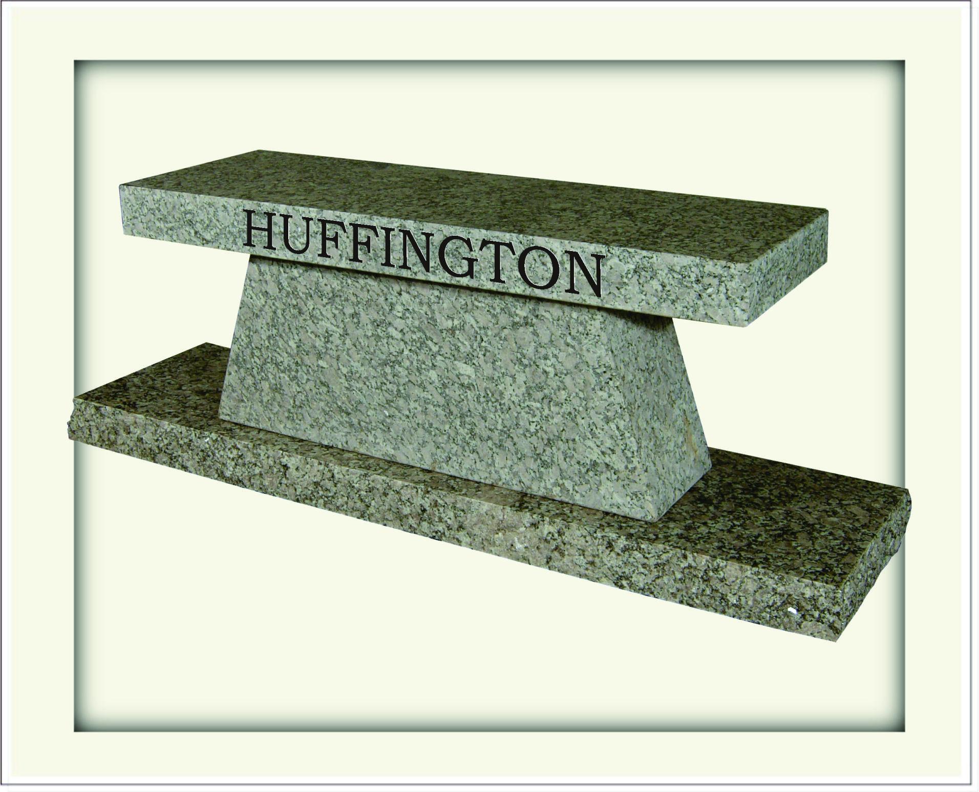 granite stone memorial bench collection
